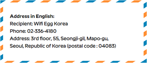 WEK english address