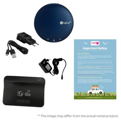 WiFi Egg wifi Router Rental Package