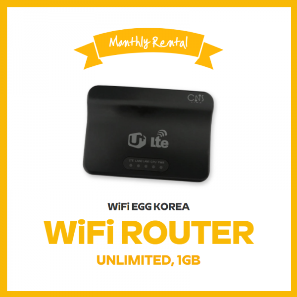 WiFi Router Monthly Plan